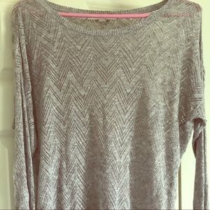 Long sleeve grey top